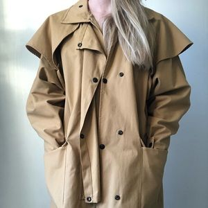 Driza-bone Australia cotton short coat size 5 (M)